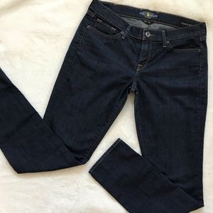 🍀Lucky Brand Size 12/31 Charlie Skinny Blue Jeans